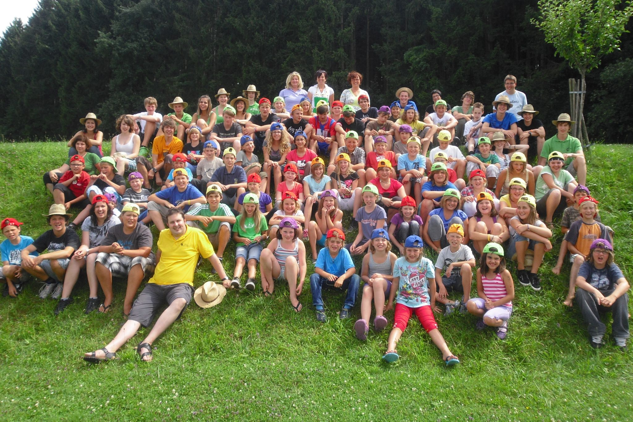 Lagergruppenfoto2010
