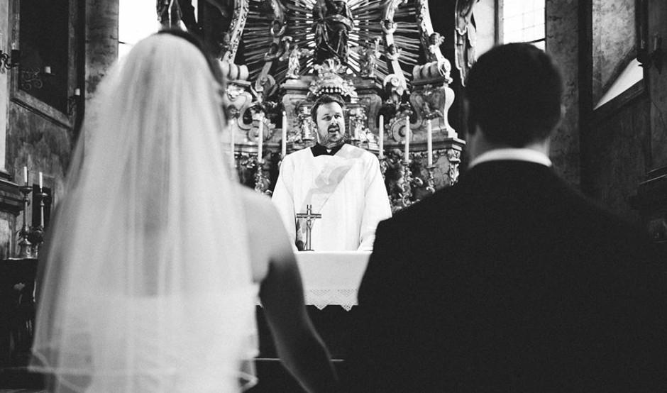 Modernes Evangelium Hochzeit