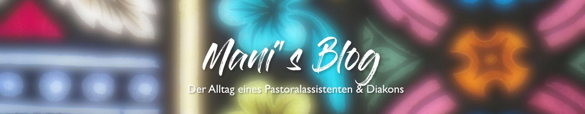Mani's Blog