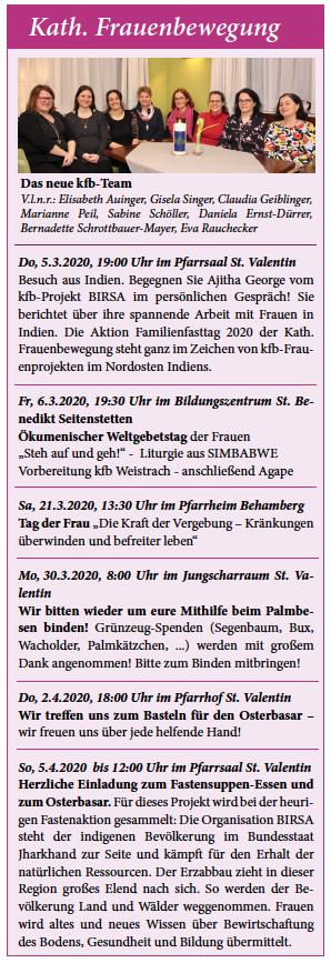 Treffen Frauen Sankt Valentin - Er sucht Sie Salzburg
